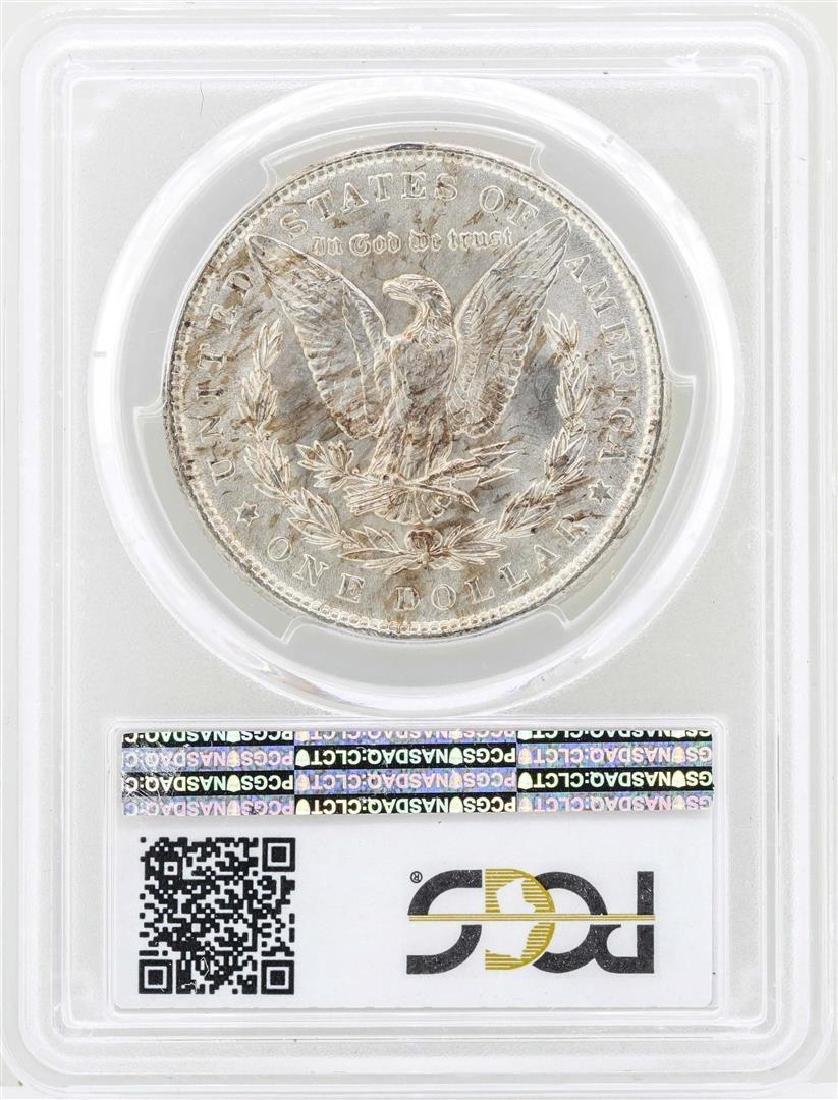1888 $1 Morgan Silver Dollar Coin PCGS MS65 - 2