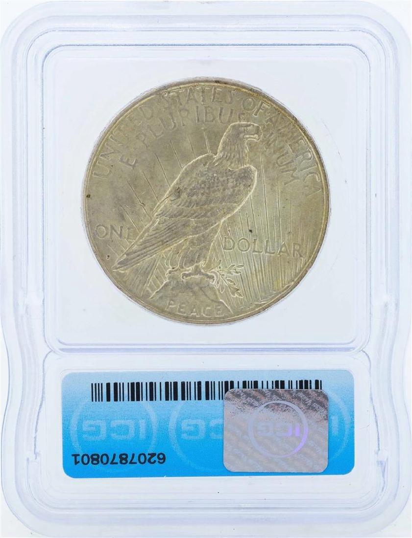 1924-S $1 Peace Silver Dollar Coin ICG MS62 - 2