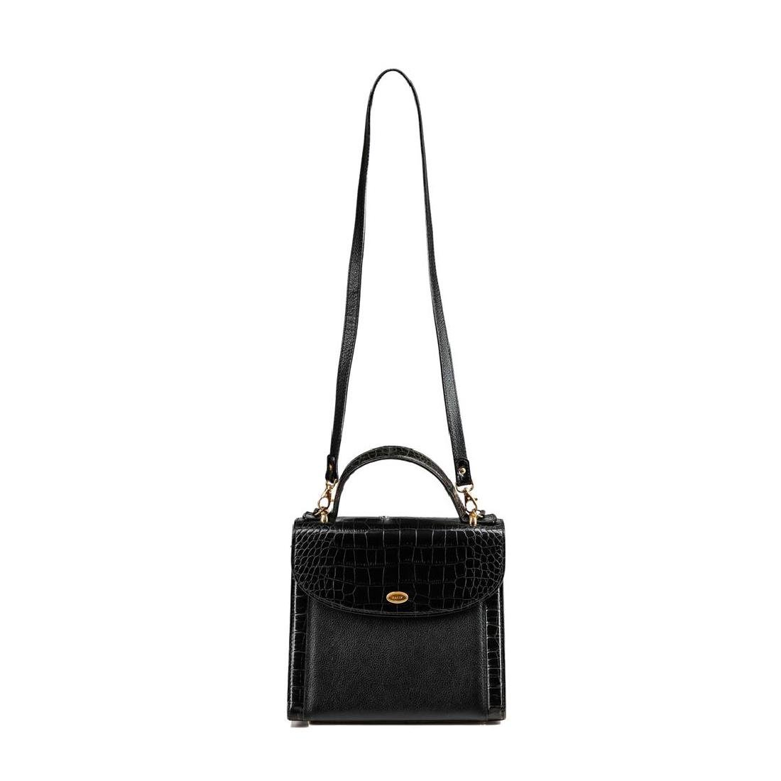 Bally Black Leather Handbag - 2