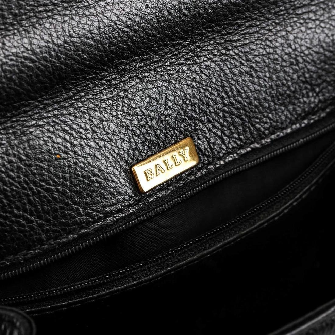 Bally Black Leather Handbag - 4