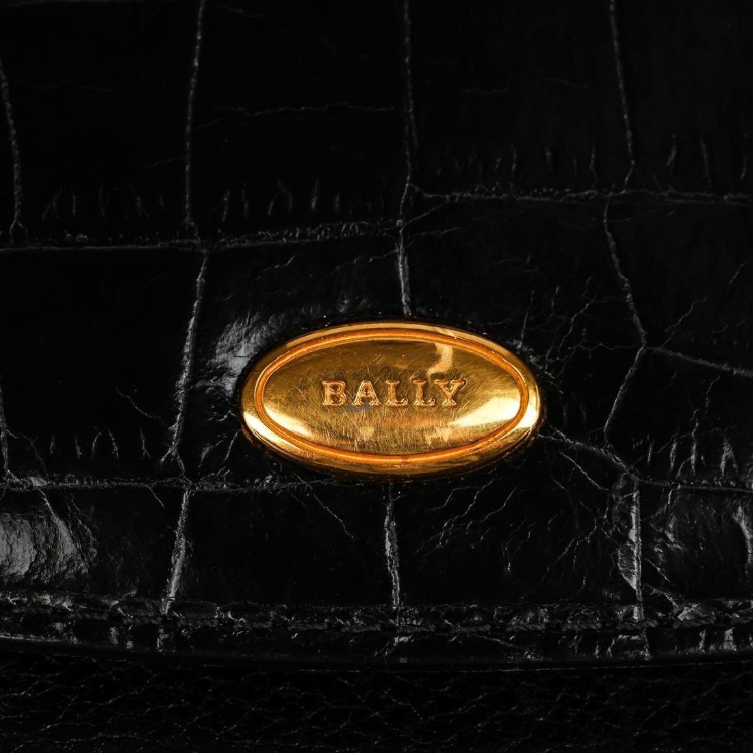 Bally Black Leather Handbag - 5