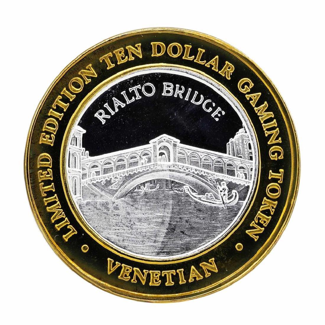 .999 Silver The Venetian Las Vegas Nevada $10 Casino
