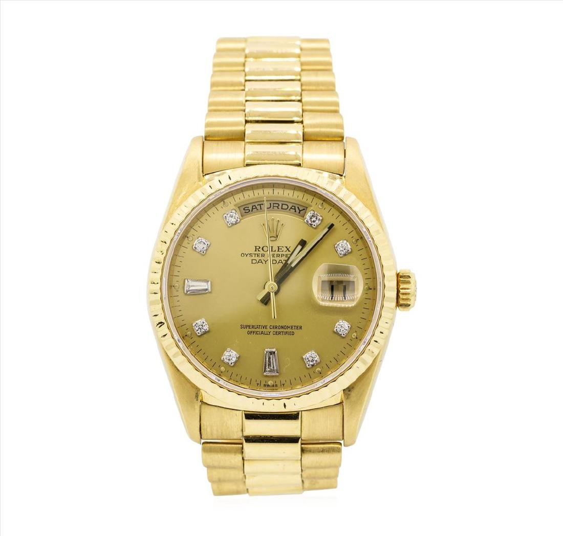Rolex President 18KT Yellow Gold DayDate Mens