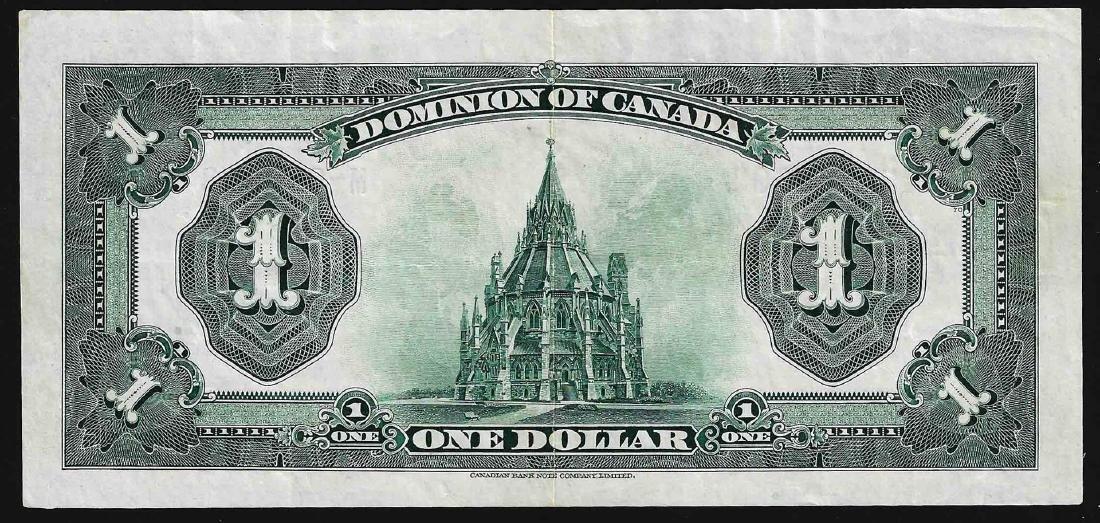 1923 $1 Dominion of Canada Note - 2