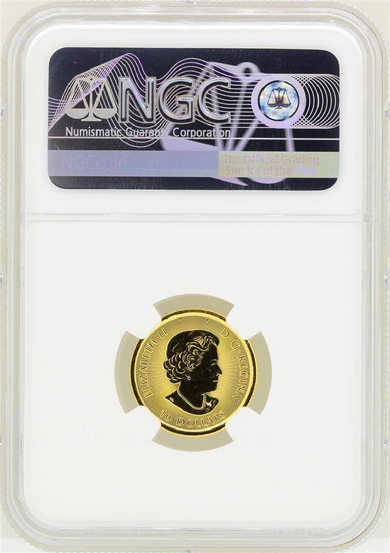 2016 Canada $10 White Falcon Gold Coin NGC MS69 - 2