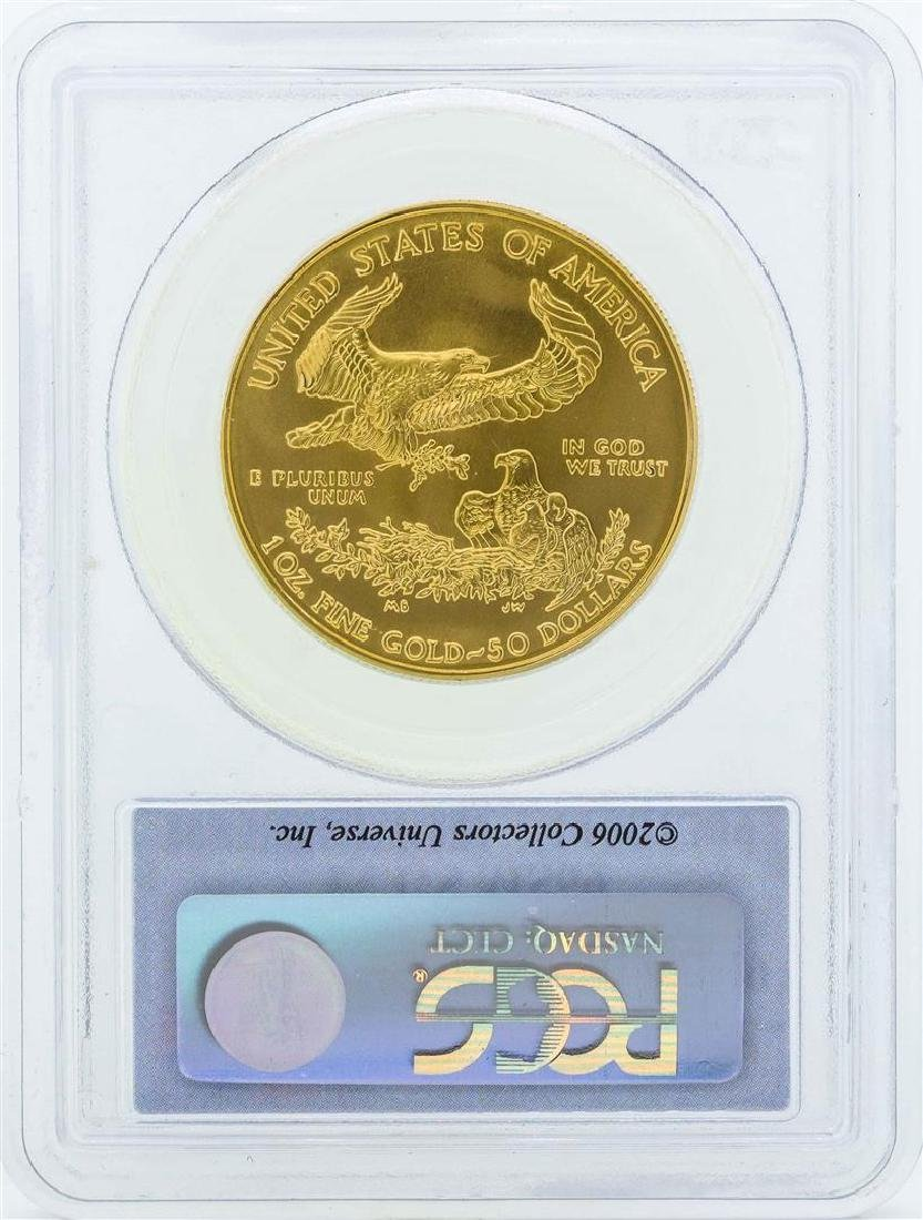 2006 $50 American Gold Eagle Coin PCGS MS69 First - 2