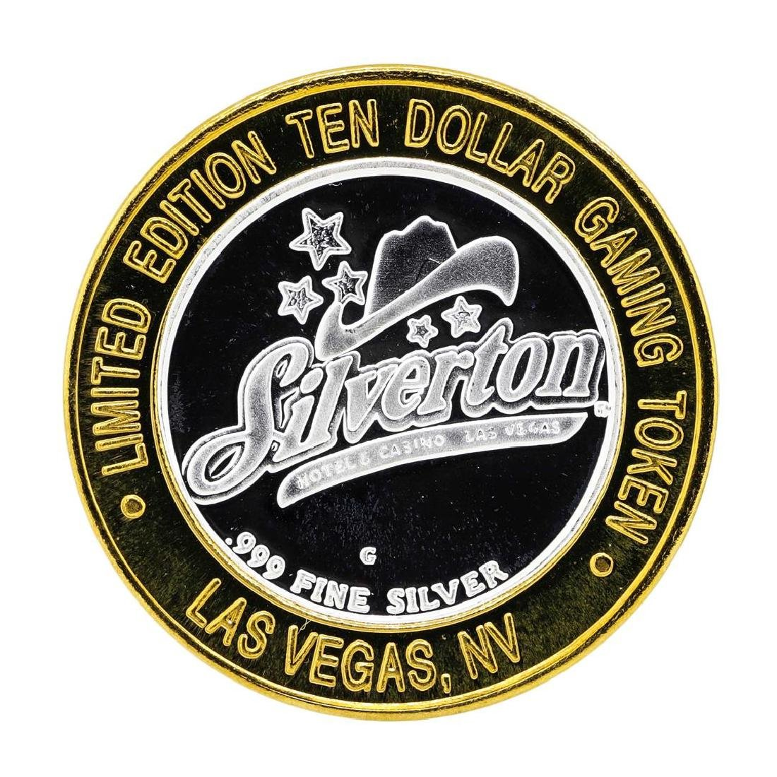 .999 Silver Silverton Casino Las Vegas, NV $10 Casino