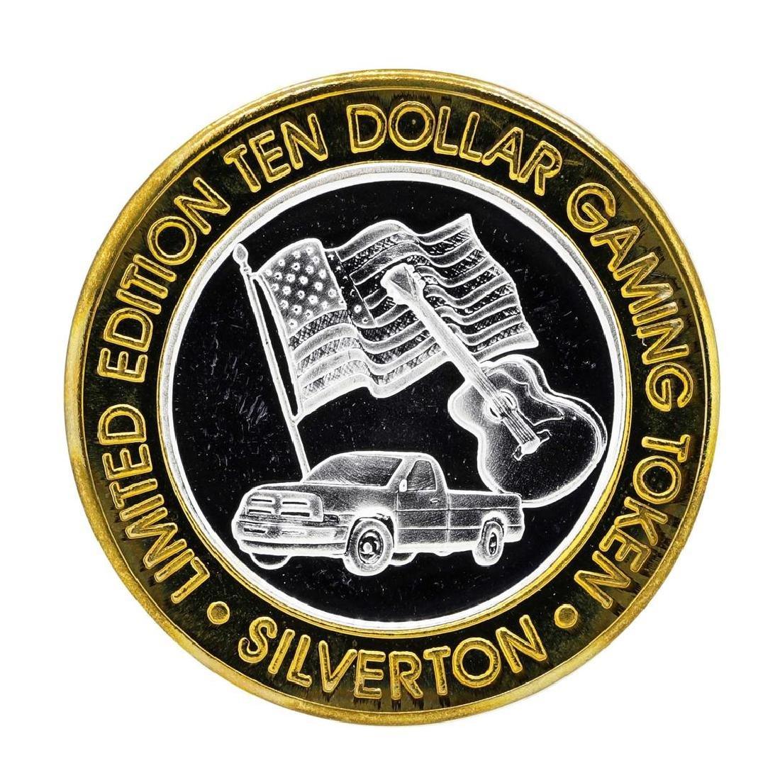 .999 Silver Silverton Casino Las Vegas, NV $10 Casino - 2