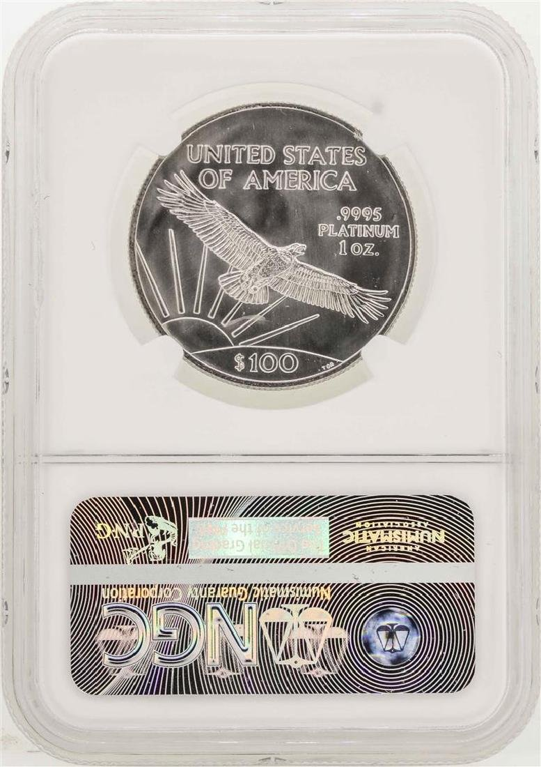 2006 $100 American Eagle Platinum Coin NGC MS69 - 2