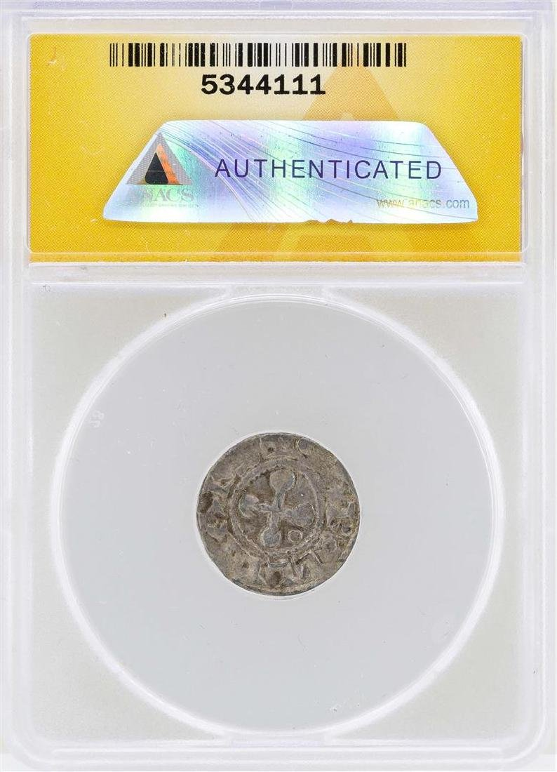 1157-1276 Denier France Bishops of Valence Coin ANACS - 2