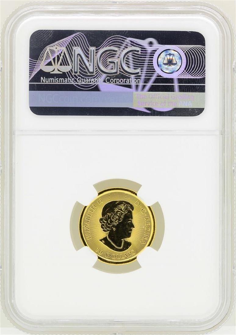 2016 Canada $10 White Falcon Gold Coin NGC MS70 - 2