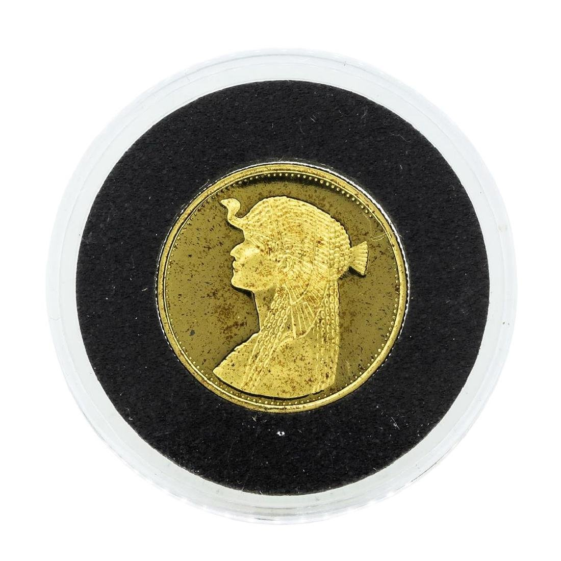 1993 1/4 oz. Egypt 50 Pound Gold Proof Coin