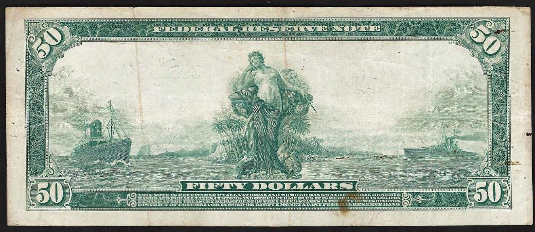 1914 $50 Federal Reserve Note - 2