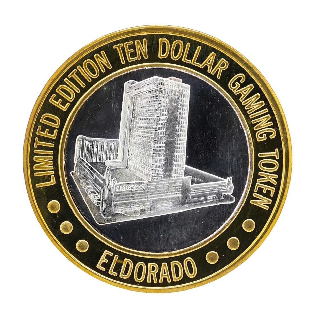 .999 Silver Eldorado Hotel & Casino $10 Casino Limited