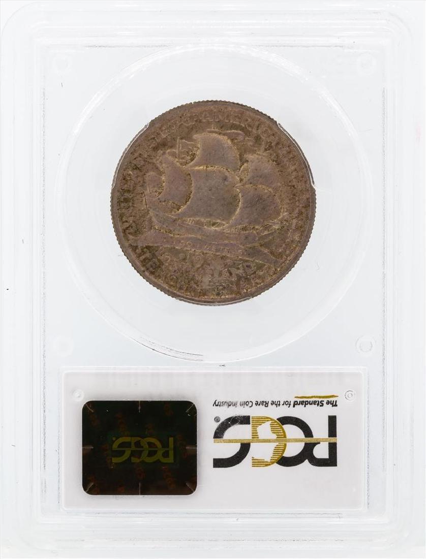 1936 Long Island Tercentenary Commemorative Half Dollar - 2