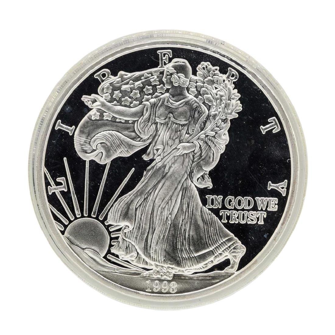 1993 One Troy Pound Fine Silver American Silver Eagle