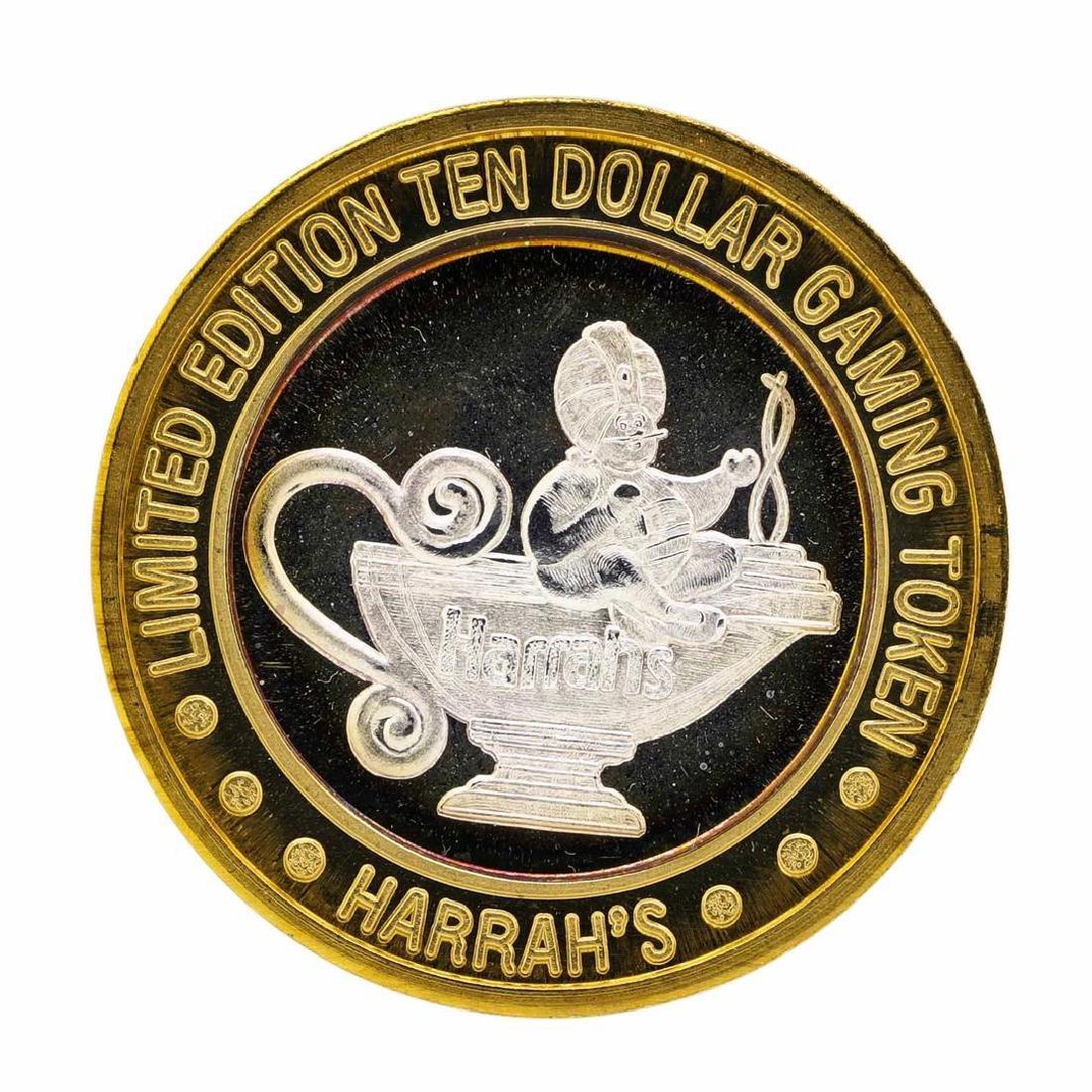 .999 Silver Reno, Nevada $10 Casino Limited Edition