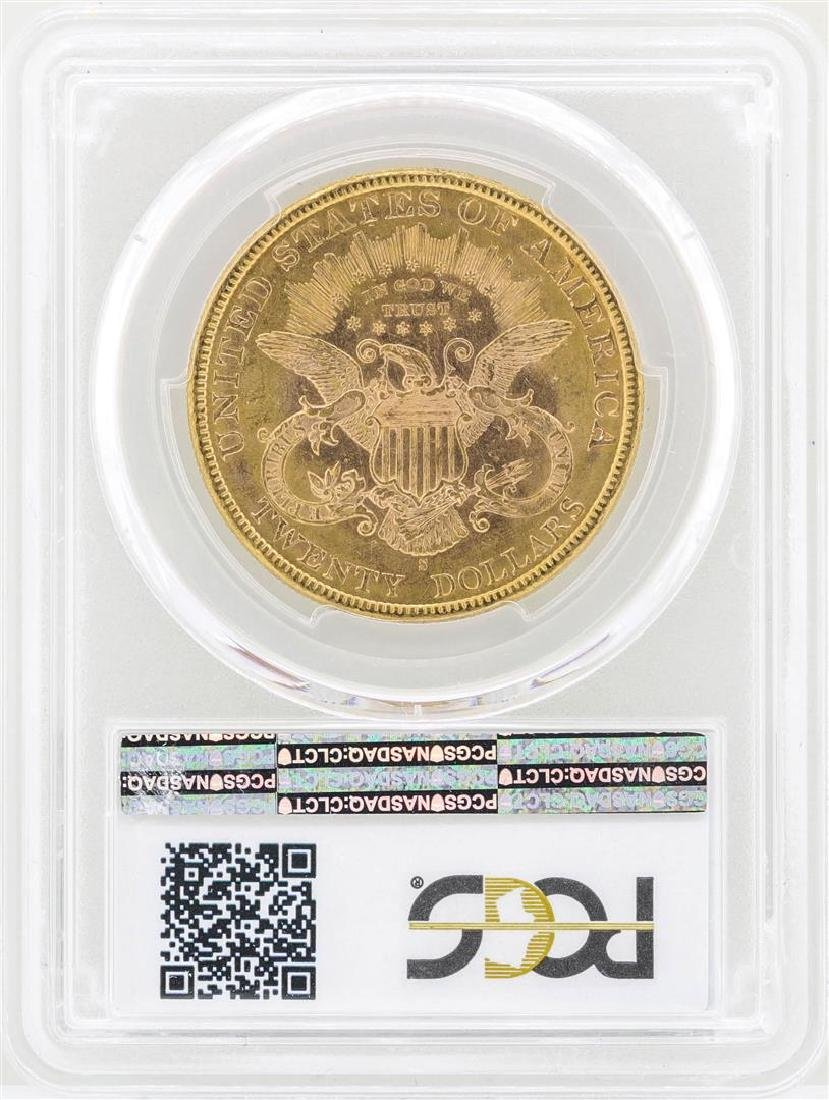 1898-S $20 Liberty Head Double Eagle Gold Coin PCGS - 2