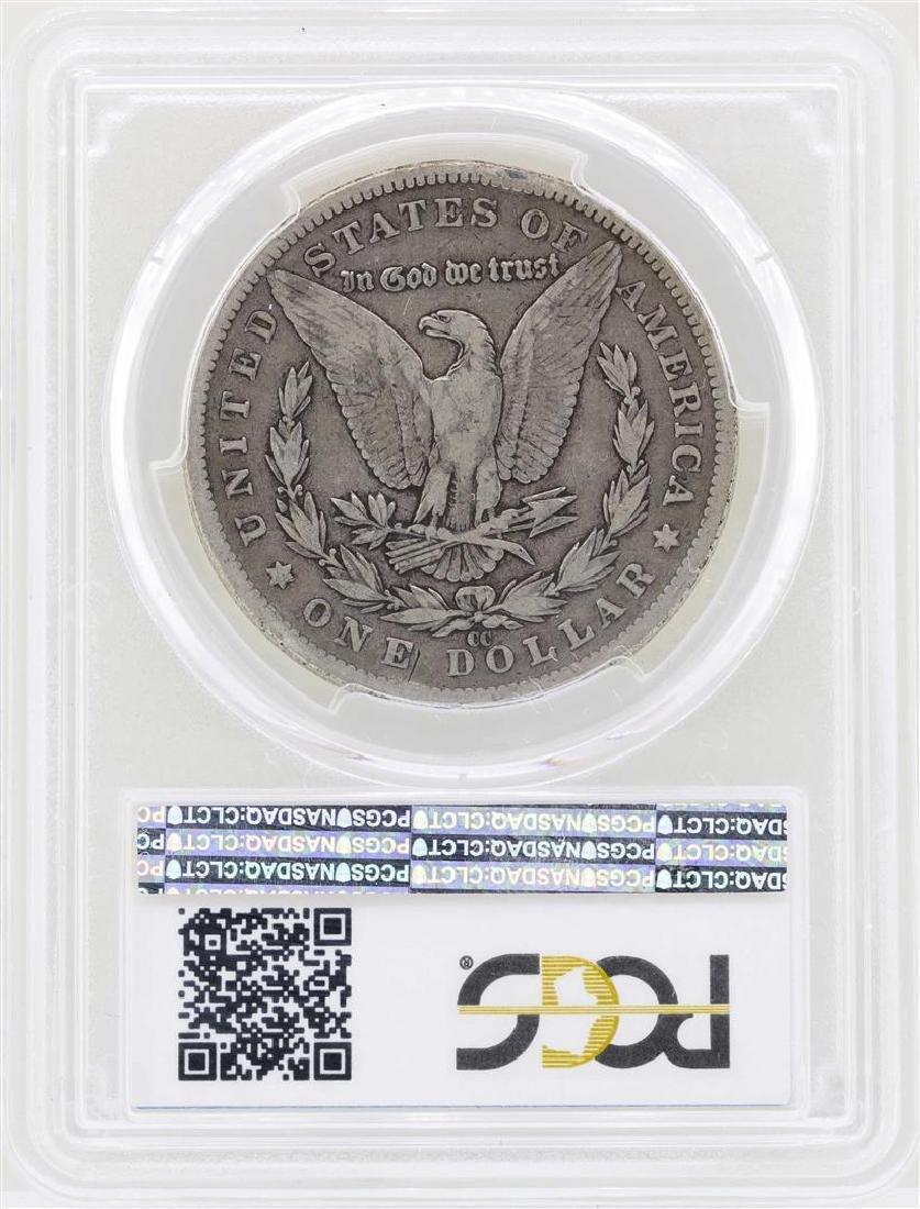 1892-CC $1 Morgan Silver Dollar Coin PCGS VG08 - 2
