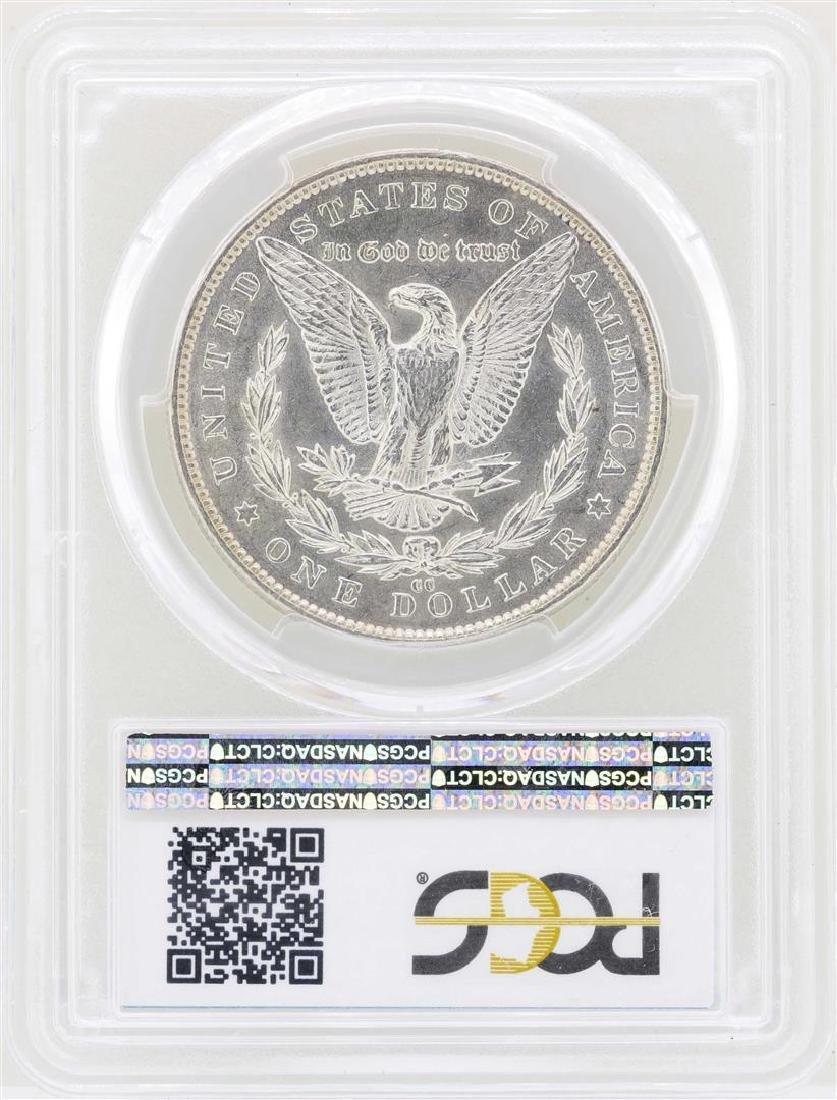 1891-CC $1 Morgan Silver Dollar Coin PCGS AU58 - 2