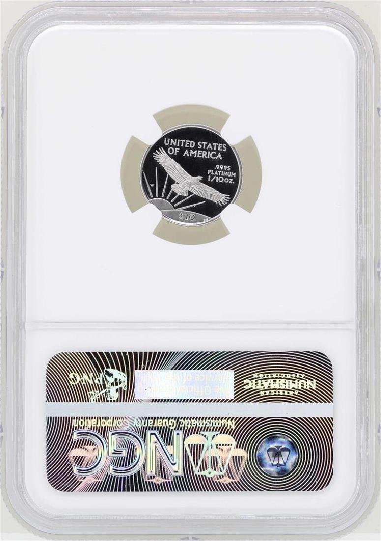 1997-W $10 American Platinum Eagle Coin NGC PF69 Ultra - 2