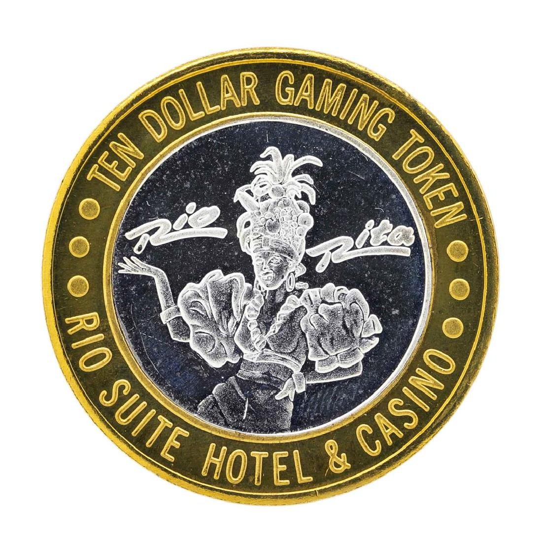 .999 Silver Rio Suite Hotel & Casino Las Vegas, NV $10 - 2