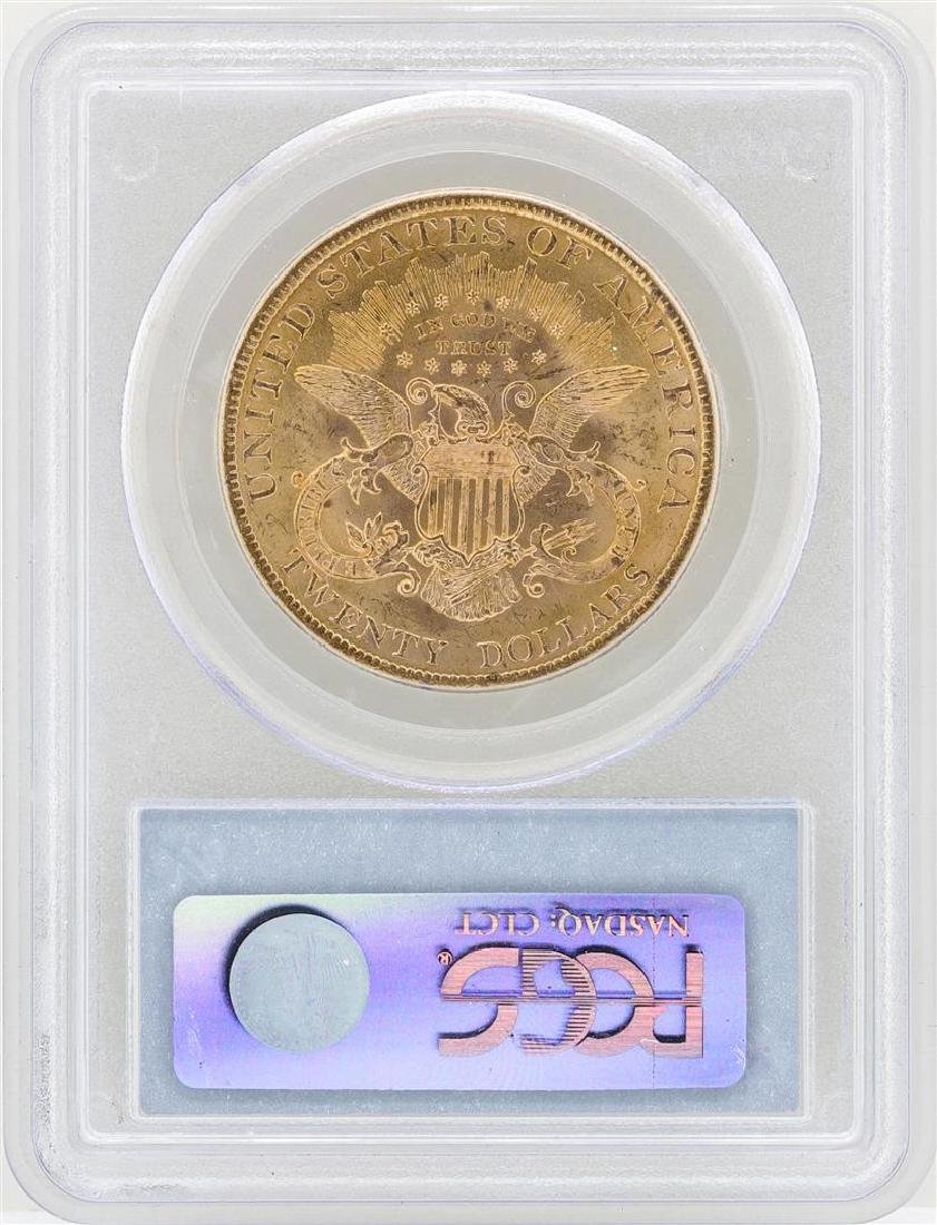 1900 $20 Liberty Head Double Eagle Gold Coin PCGS MS61 - 2