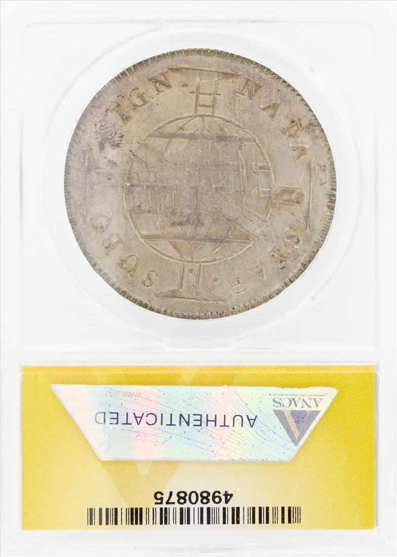 1816 960R Brazil Overstruck on Spanish Colonial 8 - 2
