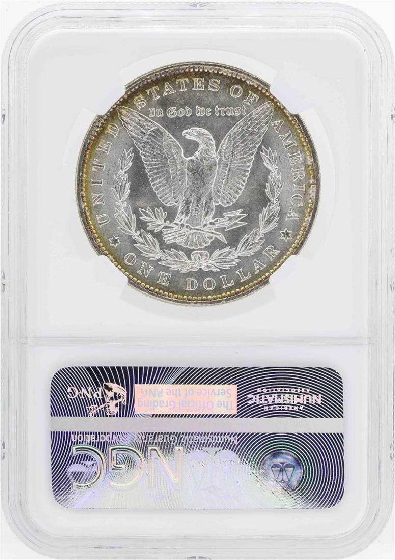 1887 $1 Morgan Silver Dollar Coin NGC MS64 - 2
