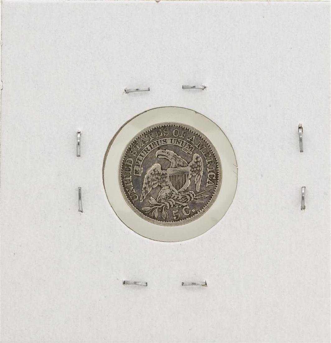 1835 Capped Bust Half Dime Silver Coin - 2