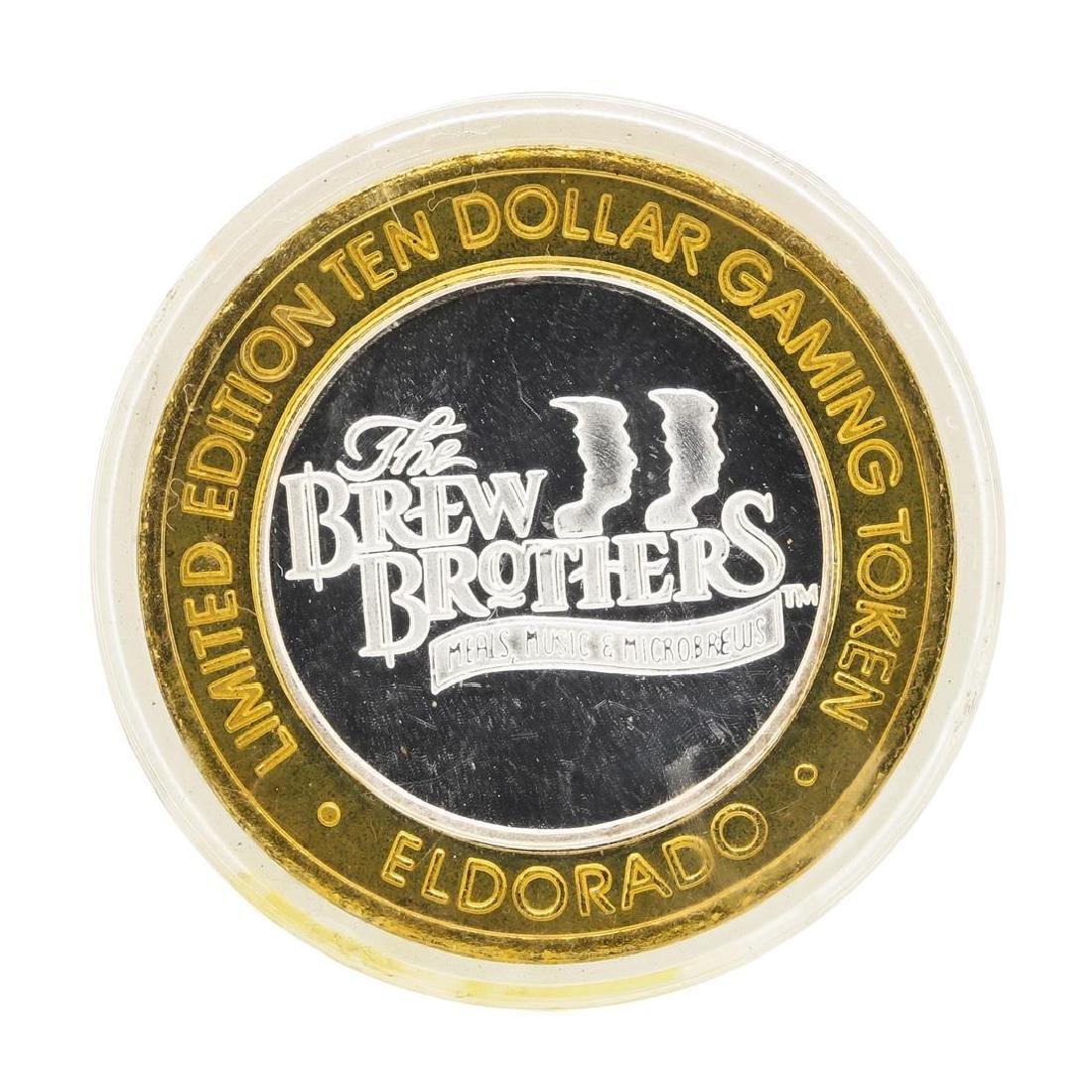 .999 Silver El Dorado Hotel & Casino Reno, Nevada $10