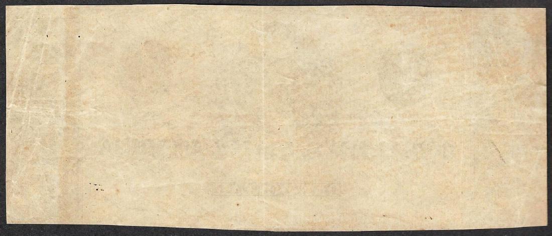 1864 $1 Confederate States of America Note - 2