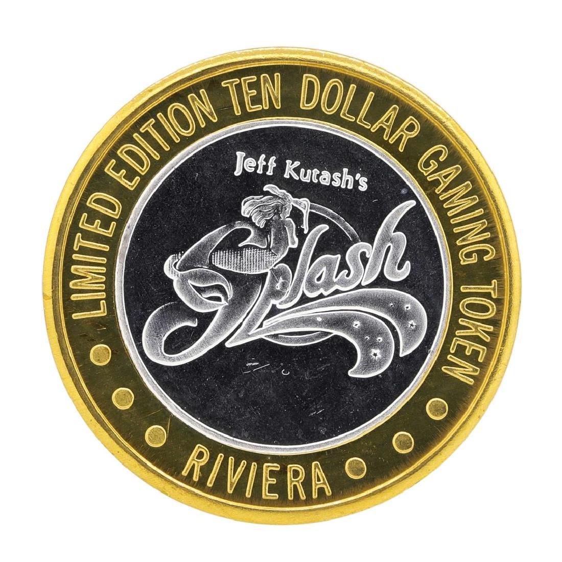 .999 Silver Riviera Hotel & Casino $10 Casino Limited