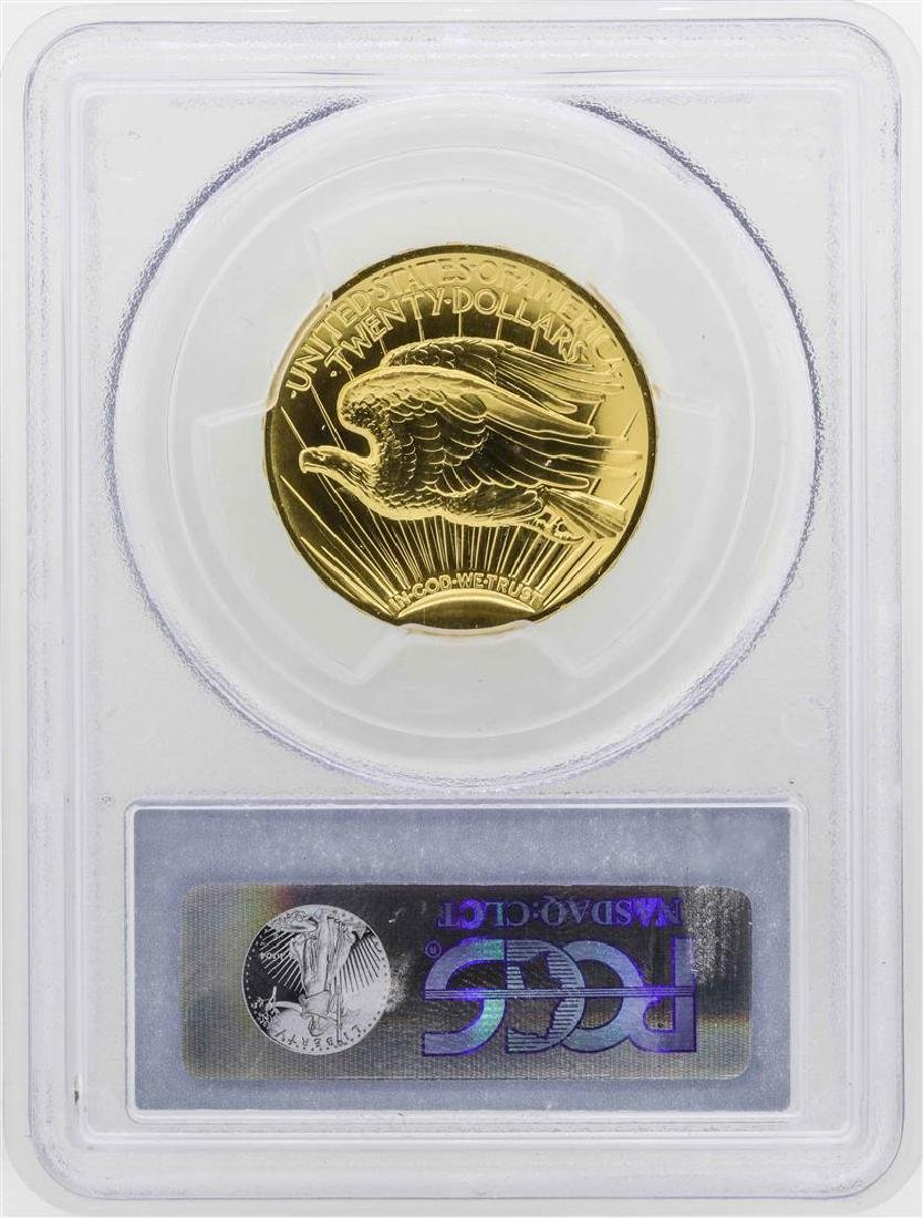 2009 $20 Ultra High Relief Double Eagle Gold Coin PCGS - 2