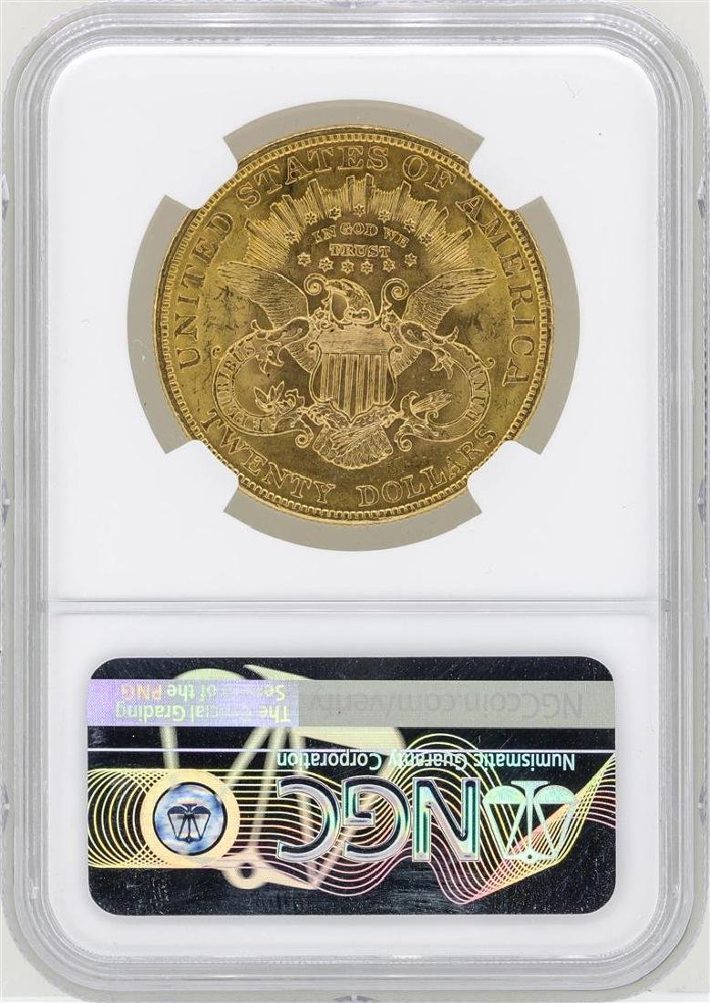 1904 $20 Liberty Head Double Eagle Gold Coin NGC MS62 - 2