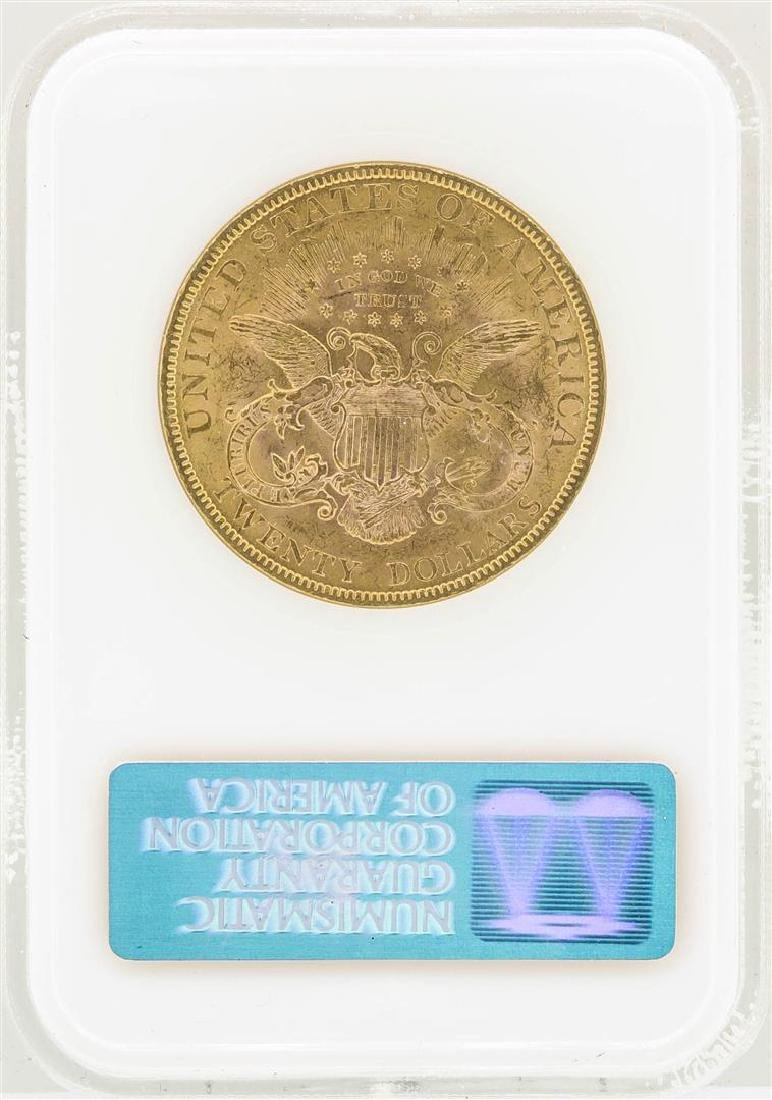 1894 $20 Liberty Head Double Eagle Gold Coin NGC MS61 - 2