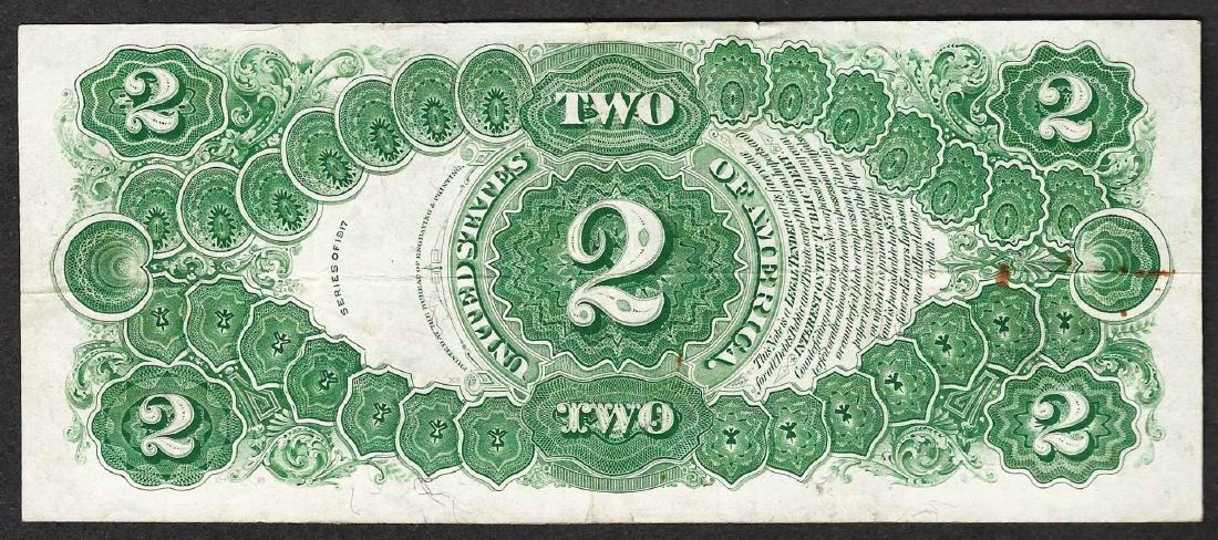 1917 $2 Legal Tender Note - 2