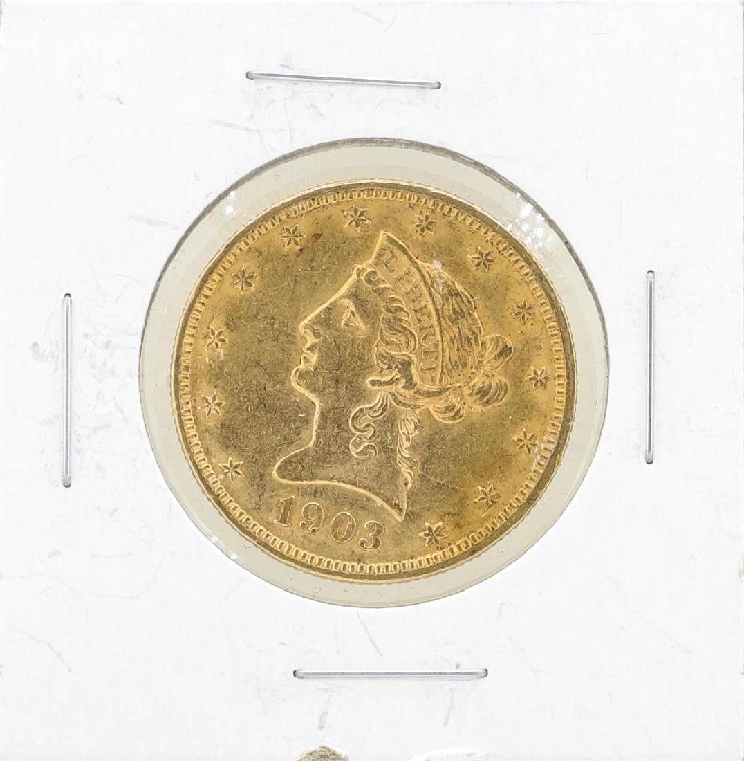 1903 $10 Liberty Head Eagle Gold Coin