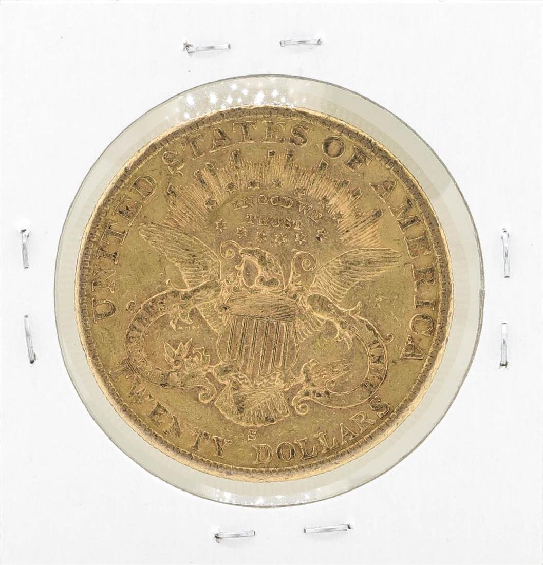 1900-S $20 Liberty Head Double Eagle Gold Coin - 2