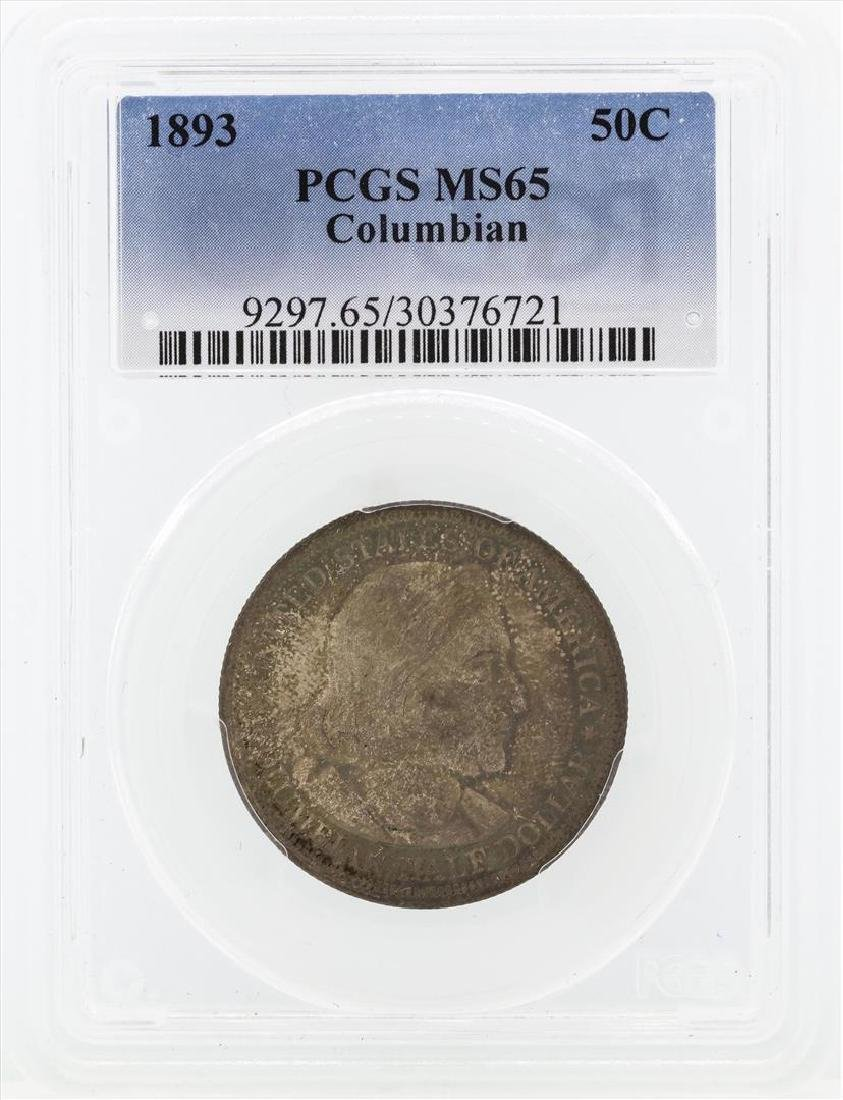 1893 Columbian Centennial Commemorative Half Dollar