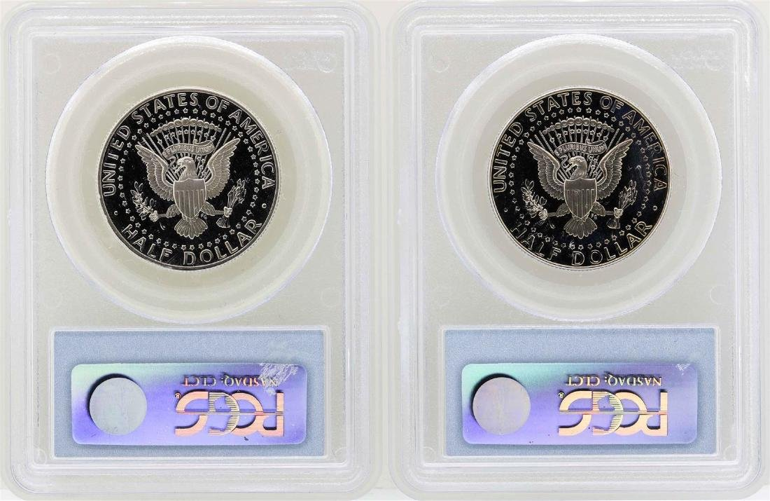 1998-S to 2001-S Kennedy Half Dollar Coins PCGS - 2