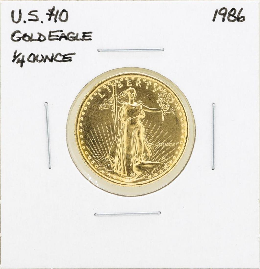 1986 $10 American Gold Eagle Coin