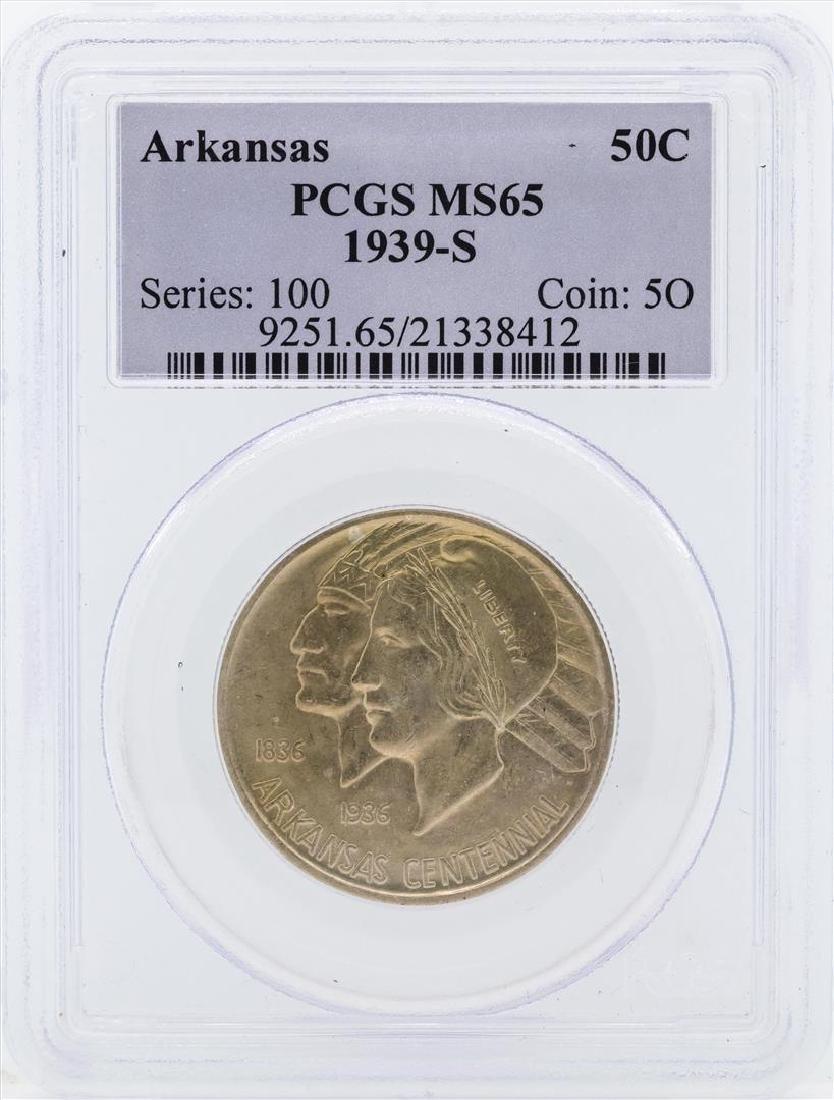 1939-S Arkansas Centennial Commemorative Half Dollar