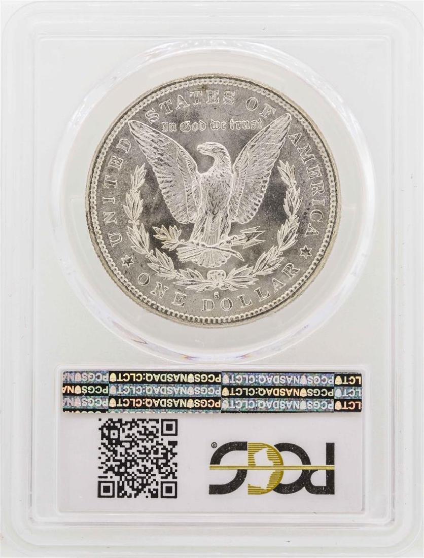 1882-S $1 Morgan Silver  Dollar PCGS MS64 - 2