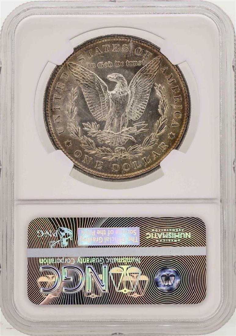 1886 $1 Morgan Silver Dollar Coin NGC MS63 - 2