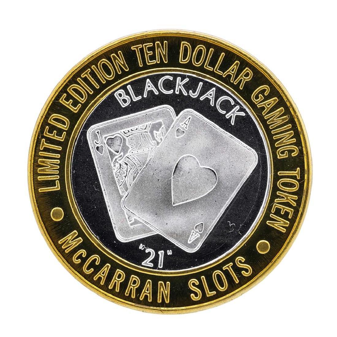 .999 Silver McCarran International Airport $10 Casino