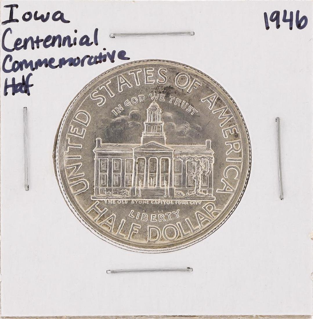 1946 Iowa Centennial Commemorative Half Dollar Coin