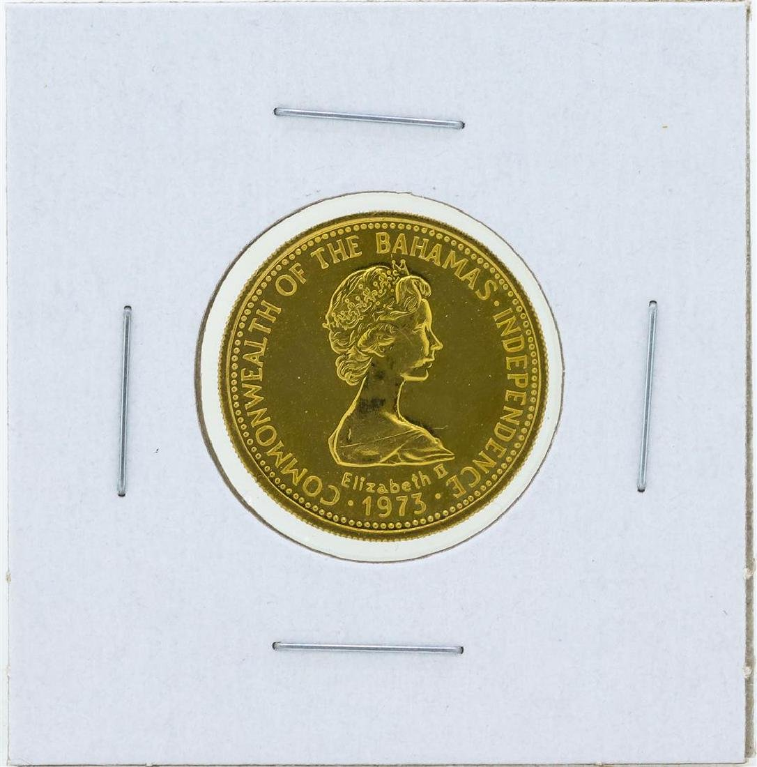 1973 $50 Commonwealth of the Bahamas Gold Proof Coin