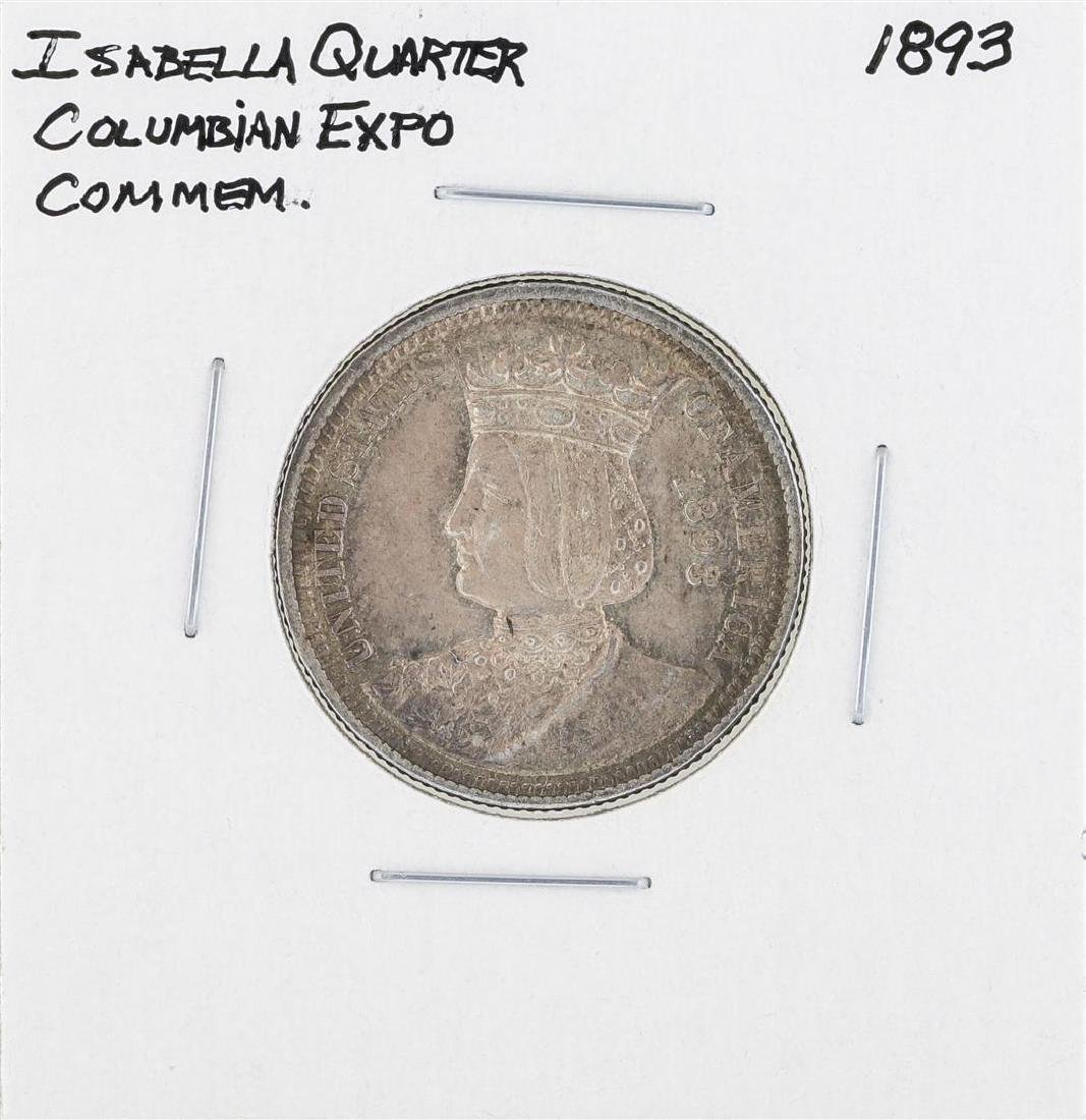 1893 Columbian Exposition Isabella Commemorative