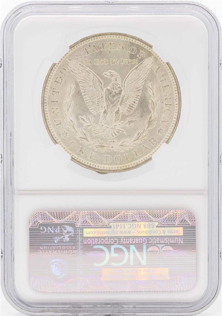 1921 $1 Morgan Silver Dollar Coin NGC MS65 - 2
